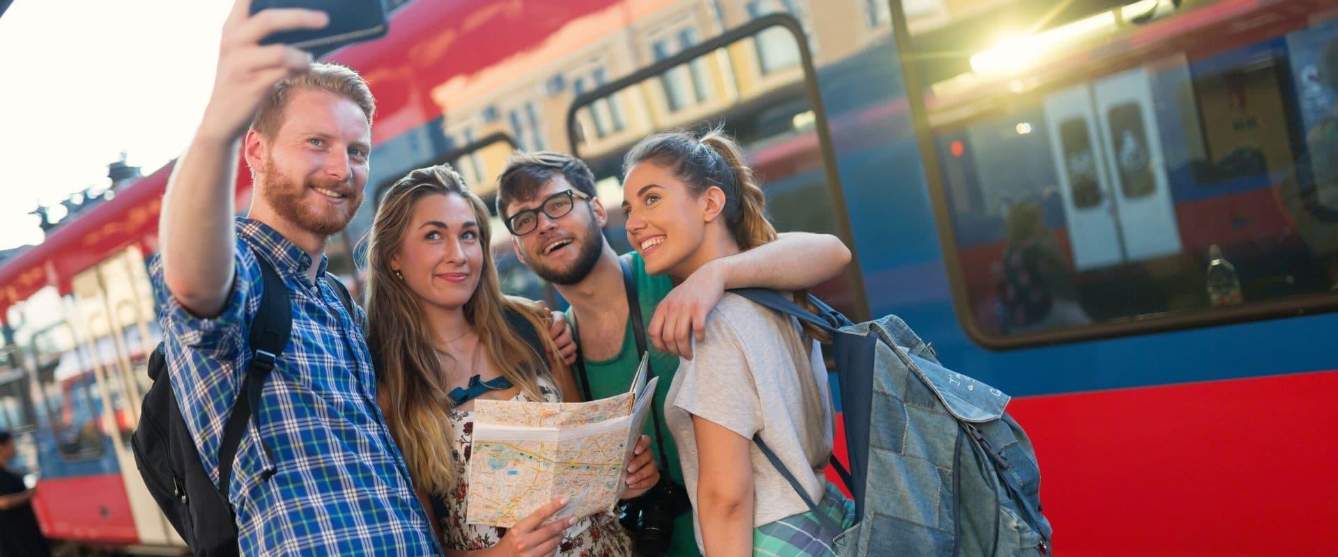 choisir le bus lors d'un voyage en groupe